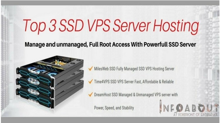 Top 3 Best SSD VPS Server Hosting Companies – 2020