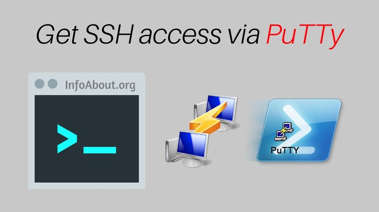 manage shell jailed ssh access via putty application configiuration setup