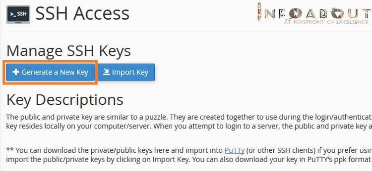 ssh using private key putty