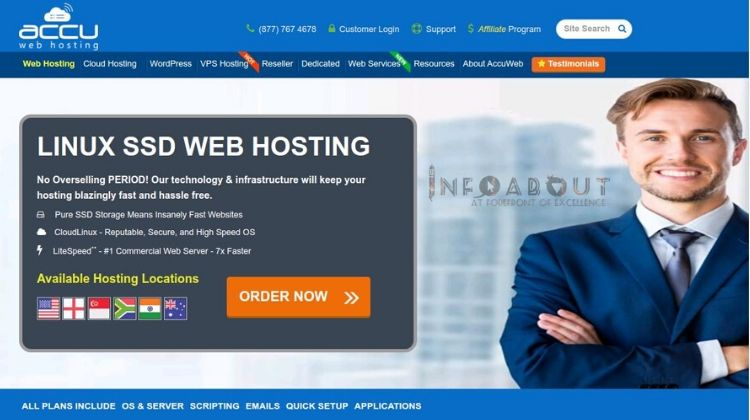 best ssd accuweb hosting service affordable price purchase buy low cost ssl certificate vps server dedicated server fully wordpress managed