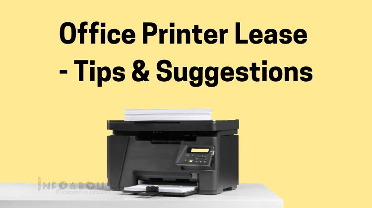 Office Printers For Lease – Tips And Suggestions : 2020