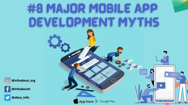 major mobile app development myths with the app development trends